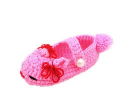 JTC Strickschuh One Size Baby Mit Süßen Muster Flaumweich Colour #23