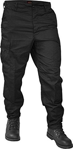 normani US Ranger Hose BDU Hose Farbe Schwarz Größe L