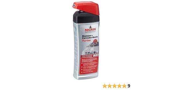 Nigrin 72988 Performance Auto Shampoo Und Naturwachs 500 Ml Auto