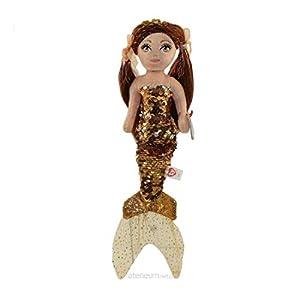 Ty 02104 Ginger Marrón Lentejuelas Sirena REG