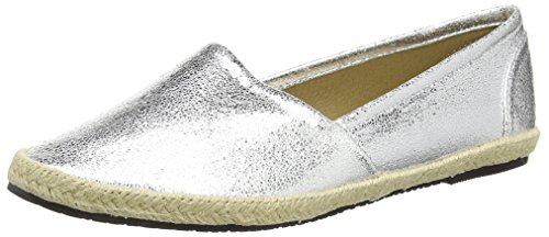 Buffalo Shoes 327423 LH-129, Damen Espadrilles, Silber (SILVER), 39 EU
