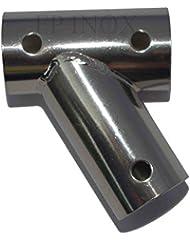 Té inox incliné 60° 1er Prix Pour tube Diamètre 25mm inox