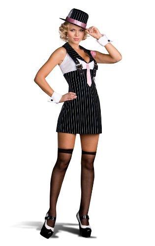 Gangster Sexy Kostüm - Dreamgirl 6520Kostüm Dirty Sexy Geld Gangster