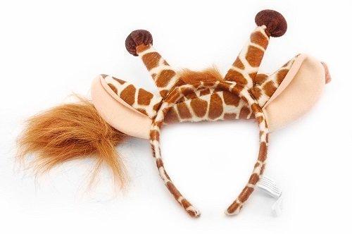 et - (Ohren und Schwanz) (Giraffe Kostüm Make Up)
