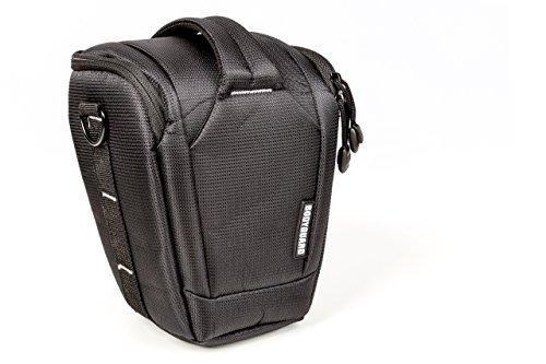 Colttasche Bodyguard Uno Colt L > Kameratasche mit Regencape für Spiegelreflexkameras mit Standardobjektiv bis 20cm Gesammthöhe z.B.Canon EOS 70D 77D 80D 200D 1300D 700D 750D 760D 77D 800D Nikon D3300 D3400 D5100 D5300 D5500 D5600 D7200 D7500