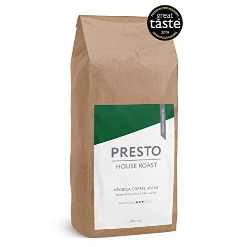 Presto Kaffeebohnen - Kaffee ganze Bohnen - Gut fur Filterkaffee (Brasilianisch 1KG)