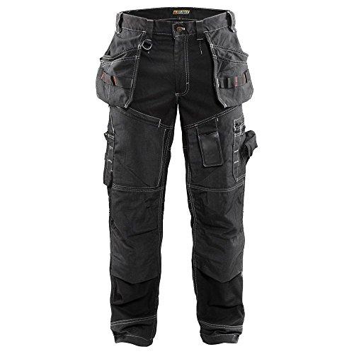 """Blåkläder Workwear Bundhose Handwerker """"X1500"""", 1 Stück, schwarz, 67-15001370-9900-C156"""