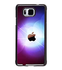 printtech Apple Glow Back Case Cover for Samsung Galaxy Alpha G850