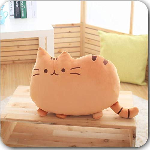 Cushion - 25cm Plush Doll Cat Back Cushion Lumbar Decorative Throw Pillow Smiley Face Seat Stuffed Kids Room - Decor Insect Guards Soft Passat Catheter Catcher Alpaca Cradle Doll Adult Pillow - Insect Guard