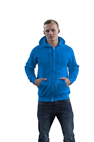 Just Hoods -  Felpa  - Maniche lunghe  - Uomo Blu - Sapphire Blue