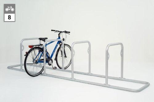 Fahrradständer - Anlehnsystem GALAXY 34 mit 4 Holmen (8 Einstellplätze)