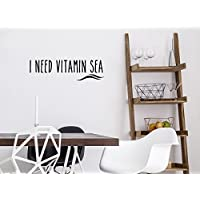 "Wandtattoo ""I need vitamin sea"""
