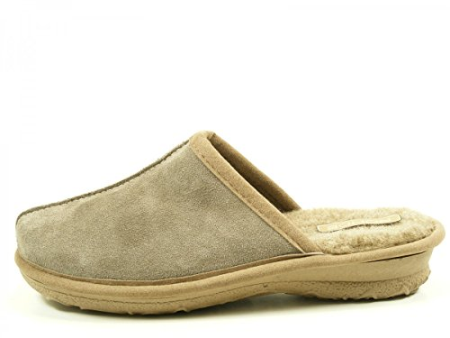 Rohde 2272, Chaussons Mules Femme Beige
