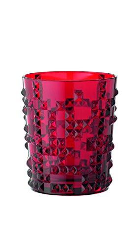 Spiegelau & Nachtmann, Whisky-Becher, 348 ml, Kristallglas, Farbe: Rot, Punk, 100056