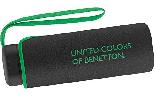 Benetton Taschenschirm Ultra Mini Flat Solid - Black