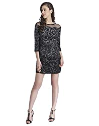 ONLY Womens Body Con Dress (15148430_Black_40)
