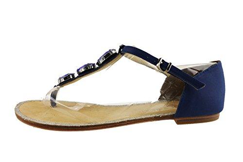 LIU JO sandali donna blu corallo pelle (38 EU, Blu)