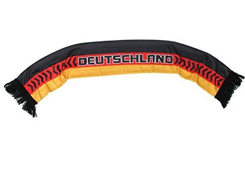 bufanda negro de color rojo de oro 'Alemania'