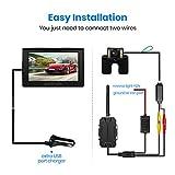AUTO-VOX Caméra de Recul Voiture Sans Fil, 6 LEDs Etanche IP67 Haute ... 2b2d0ec96472