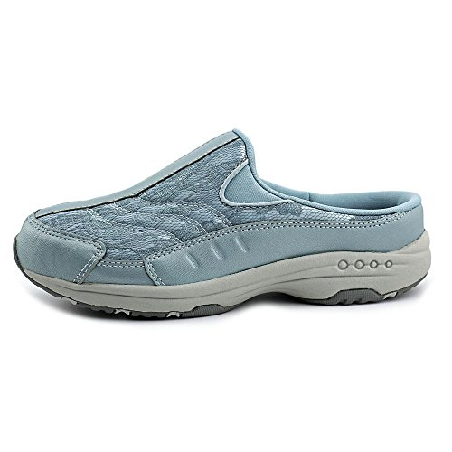 Easy Spirit Traveltime Large Cuir Chaussure de Marche LTBLU