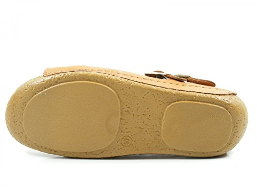 Andrea Conti 0771516 Schuhe Damen Sandalen Pantoletten Braun