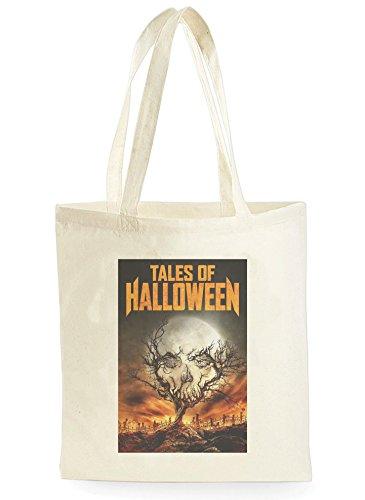 Of Halloween Poster, Einkaufstasche fürs Einkaufen, Picknick, Zuhause, Lagerung und Schule, tote bag ()
