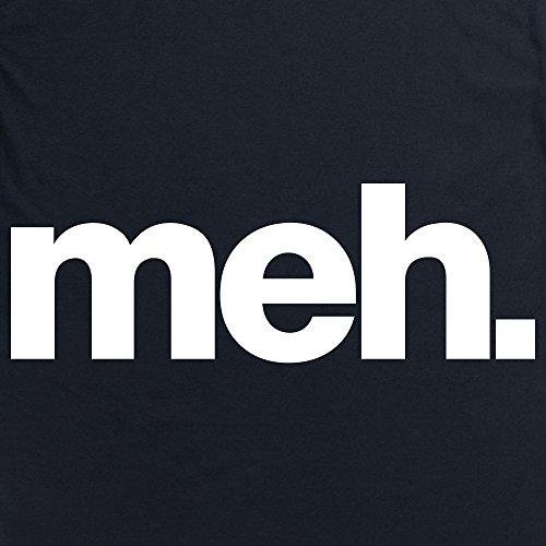 Meh T-Shirt, Herren Schwarz