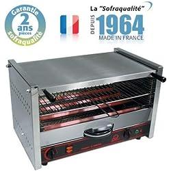 Toaster Professionnel O.Matic master 601-1 étage 490 x 300 mm - 400 V - Sofraca -