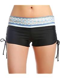 OUO Femmes Shorts de Bain Classique