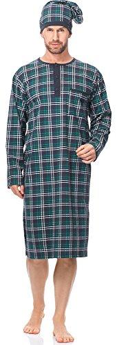 Cornette camicia da notte uomo cr1102017(modello-571304, xxl)