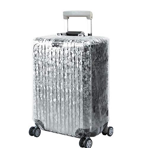 Hanxin Transparenter PVC-Stein-Wellen Erdbeere Gepäck-Kasten Wateproof Staubdichtes Reise Trolley-Koffer Schutzhülle