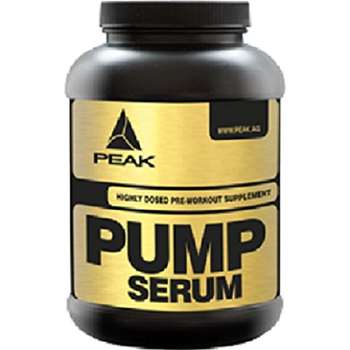 Peak Pump Serum - Pre-Workout 1er Pack - (600 g) (Orange)