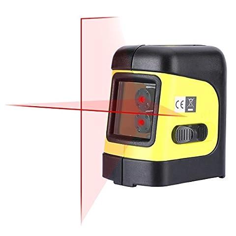 Firecore outils Croix Ligne Niveau laser Niveau Self mise à niveau avec L Bracket