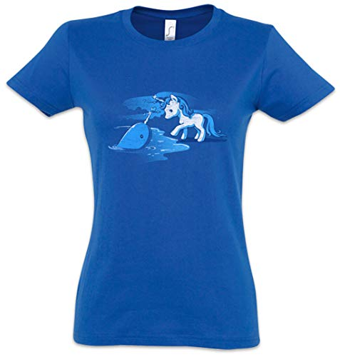 Unicorn Unihorn Mujer Girlie Women T-Shirt Tamaños XS – 2XL