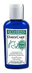 Eco-Dent Daily Care Baking Soda Toothpowder, Lemon-Lime, 2 oz (56 g)