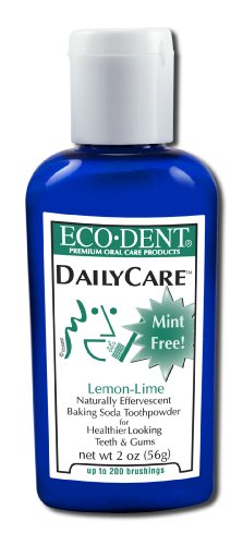Eco-Dent (Formerly Merflaun) Toothpowder, Lemon/Lime 2 Oz