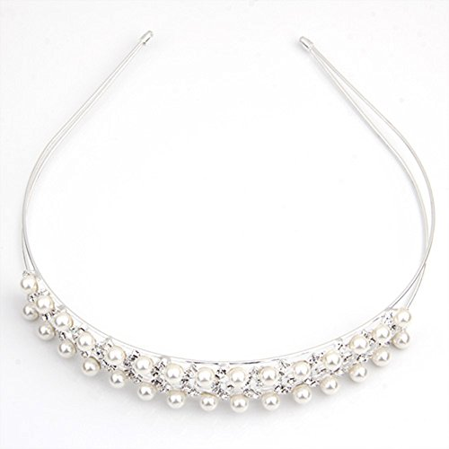 Skyllc® Placcata argento perla in rilievo di