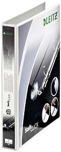Leitz 42000001 Classeur 4 anneaux personnalisable Diamètre 20 mm Lot de 6