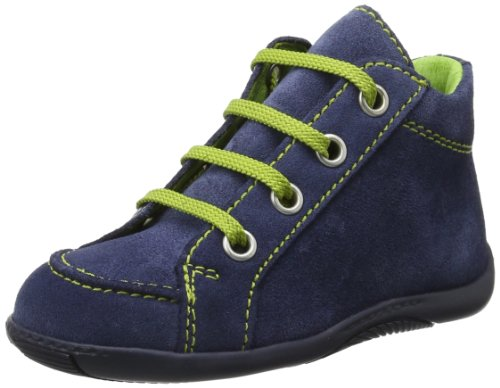 Däumling  Timmy, chaussures premiers pas bébé Bleu - Blau (Turino jeans)