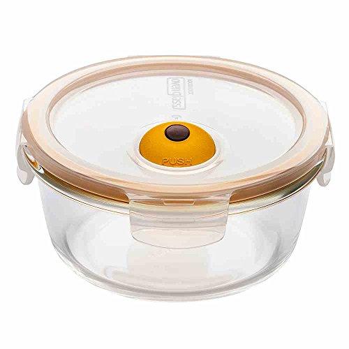 Lock und Lock Oven Glass: Für Mikrowelle und Ofen, transparent, rund 650 ml