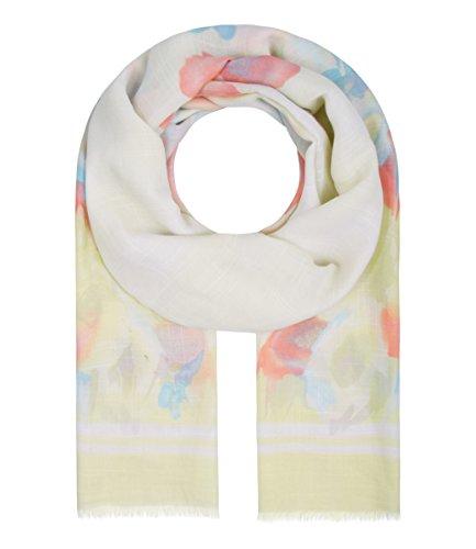 Majea Damen Schal XXL Tuch Neue Herbstkollektion Schals und Tücher mit Muster (gelb 14)