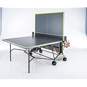 Kettler TT-Platte AXOS Indoor 3, Grau/Gelb, 07136-900
