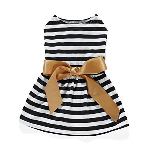 Pet Kleidung Kleid Hochzeit Kleid Party Rock Mit Bogen Band Dekoration Frühling Sommer Chihuahua York Puppy - Party Stadt Hunde Kostüm
