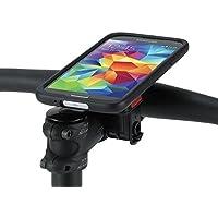 Tigra Sport supporto-Cover Case Bike mount Kit con Rain guard protezione acqua - Colore nero/trasparente - Fuji Road Bike