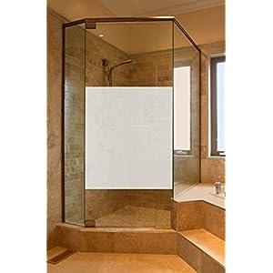 GD29 / 65cm hoch Sichtschutz Folie Fenster Dusche Sichtschutzfolie Fensterfolie Glasdekor Sichtschutzfolie Window blickdicht wasserfest selbstklebende Folie