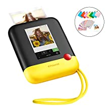 "Polaroid POP 2.0 – Fotocamera digitale a stampa istantanea, con display touchscreen da 3,97"", Wi-Fi integrato, video HD da 1080p, tecnologia zero inchiostro Zink e nuova app, giallo"