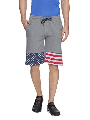 Proline Men Grey Shorts  available at amazon for Rs.399