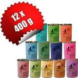 Catz Finefood 12 x 400 g Mix-Paket 12 Sorten Katzenfutter