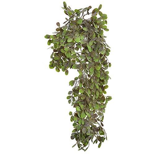 Planta Artificial Colgante, Grande, para Decoración de Interior/Exterior. Diseño Realista, con Estilo Natural - Hogar y Más - D