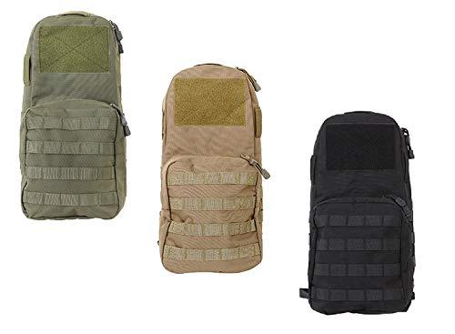 Airsoft Rucksack für Mollesysteme - Hydration Carrier Backpack/für Westen + Plattenträger (Tan)